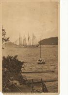 Boca De Monos From Point Baleine Bathing Pool Trinidad 4 Mats Voilier Stamp 1939 Port Of Spain - Trinidad