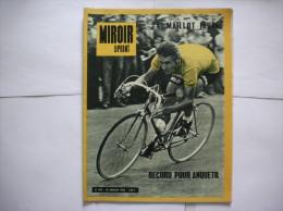 MIROIR SPRINT N°893 DU 15 JUILLET 1963 RECORD POUR ANQUETIL - Sport