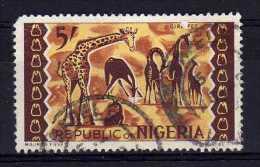 Nigeria - 1966 - 5 Shilling Definitive - Used - Nigeria (1961-...)