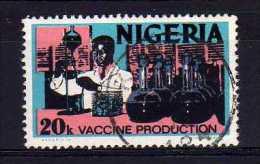 Nigeria - 1973 - 20k Definitive/Vaccine Production - Used - Nigeria (1961-...)