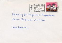 HELVETIA  -  LUZERN  WM 78    -   BOCCE - Bowls