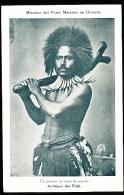 FIDJI DIVERS / Un Guerrier En Tenue De Parade / - Fidji