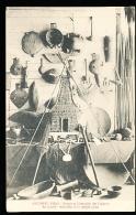FIDJI DIVERS / Armes Et Ustensiles Des Fidjiens, Réduction D'un Temple Païen / - Fidji