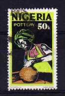 Nigeria - 1973 - 50k Definitive/Pottery - Used - Nigeria (1961-...)