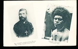 PAPOUASIE NOUVELLE GUINEE DIVERS / Monseigneur Verjus, Fondateur De La Mission, Type De La Montagne / - Papoea-Nieuw-Guinea