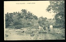 PAPOUASIE NOUVELLE GUINEE DIVERS / Yule Island, Port Léon / - Papoea-Nieuw-Guinea