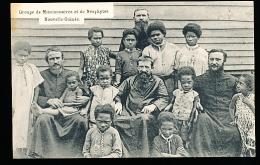 PAPOUASIE NOUVELLE GUINEE DIVERS / Groupe De Missionnaires Et Néophytes / - Papoea-Nieuw-Guinea