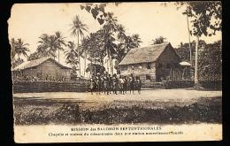 ILES SALOMON DIVERS / Chapelle Et Maison Du Missionnaire / - Salomon