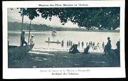 ILES SALOMON DIVERS / Arrivée Du Bateau De La Mission à Bougainville / - Salomon