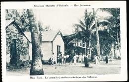 ILES SALOMON DIVERS / Rua Sura, Première Station Catholique Des Salomon / - Salomon