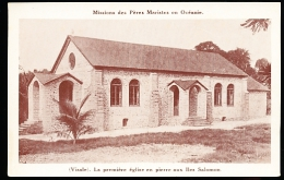 ILES SALOMON DIVERS / La Première Eglise En Pierre / - Solomoneilanden