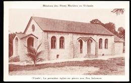 ILES SALOMON DIVERS / La Première Eglise En Pierre / - Salomon