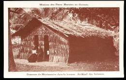ILES SALOMON DIVERS / Demeure De Missionnaire Dans La Brousse / - Solomoneilanden