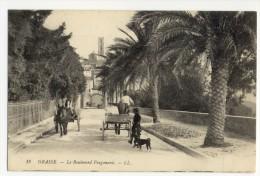 06 - GRASSE. - Le Boulevard Fragonard. Belle Carte Anmée. - Grasse