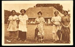 SAMOA DIVERS / Jeunes Elèves Des Soeurs D'Apia / - Samoa