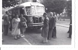 Photo 6.5 X 9.5  ( Voiture Automobile ) Bus Diesel DROUOT Car ( Transport En Commun De Paris )  Place - Automobiles