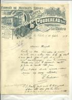 36 - Indre - LA CHASSE - Facture COUDEREAU - Meubles - Sièges - 1909 - Unclassified