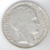 FRANCIA 20 FRANCS 1938 AG - Francia