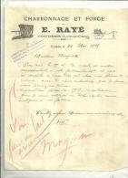 41 - Loir-et-cher - COUDDES - Facture RAYE - Charron - Voitures - 1925 - France