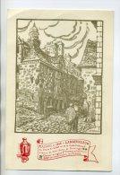 29-129 LANDERNEAU  Carte Rare Illust SEVELLEC Maison  Rue Exposition Philathelique Journée Du Prisonnier 1944 / D12-2013 - Landerneau