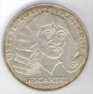 FRANCIA 100 FRANCS 1991 AG DESCARTES - Commemorative
