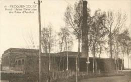 59 PECQUENCOURT - USINE ELEVATOIRE DES EAUX D ANCHIN - Sin Clasificación