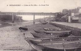 DOUARNENEZ  L´Anse De Port Rhu Le Grand Pont - Douarnenez