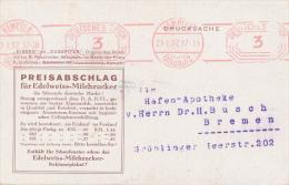 KEMPTEN - 1932 , Edelweiss-Milchzucker - Deutschland