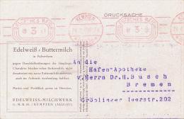 KEMPTEN - 1930 , Edelweiss-Buttermilch - Deutschland
