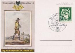 BERLIN - 1941 , Tag Der Briefmarke - Deutschland