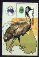 "Cuba - 1984 - ""Ausipex ´84"" International Stamp Exhibition Miniature Sheet - Used - Cuba"