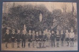 Bruxelles, Institut Des Religieuses Trinitaires, Cour De Récréation Du Petit Collège - 1930 - Enseignement, Ecoles Et Universités