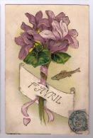 Fleur Gaufrée 1er Avril - 1° Aprile (pesce Di Aprile)