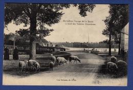 35 LE CHATELLIER Merveilleux Voyage De La Rance à Bord Des Vedettes Dinardaises, Ecluses Du Livet ; Moutons - Animée - Le Châtellier