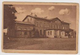 Klaipeda.Memel.Railway Station. - Lituanie