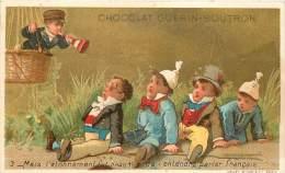 : Réf  FRP-2 13-068 :  Chocolat Guerin-Boutron  La Mongolfière - Guerin Boutron