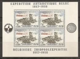 FILATELIA POLAR - BELGICA 1957 - Yvert #H31 - MNH ** - Expediciones Antárticas