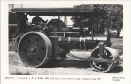 7339 - MM103 L.B.&S.C.R. Steam Roller N°2 At Hayling Island July 1931 - Trains