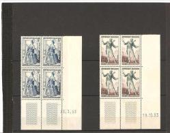 THEATRE FRANCAIS  N° 956* 23.07.53     957**  19.10.53 - 1950-1959