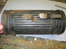 Boite Boitier De Masque A Gaz/gas Allemand/allemande   Datée 1939 Ww2 - 1939-45
