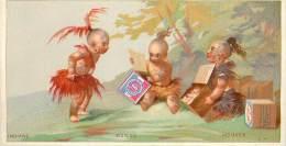 : Réf  FRP-2 13-150 : Huntley & Plamers  Indians Indiens Indianer (marge Du Haut Courte) - Confectionery & Biscuits