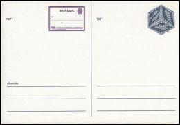Netherland 1971, Postal Stationery, Mint - Postal Stationery