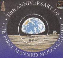 Tuvalu-1999 Moonlanding Souvenir Sheet  MNH - Tuvalu