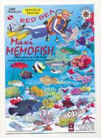 MAXI MEMOFISH MER ROUGE - Diving
