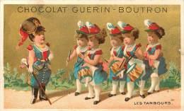 : Réf  FRP-2 13-225 : Chromos  Guérin-Boutron Demoiselles Militaires - Guérin-Boutron