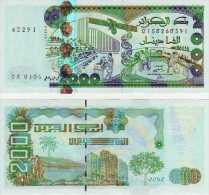 Billet De 2000 Dinars Algeriens - Argelia