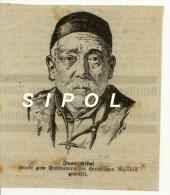 Issu D Un Journal Allemand Années 1912 Yuan Shikai Wurde Zum Präsidenten Der Chinesischen Republik Gewählt  9 X 10 Cm En - Sonstige