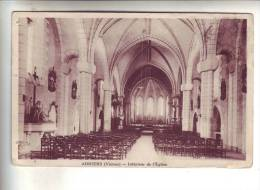 86.- ADRIERS .- Intérieur De L' Eglise - France