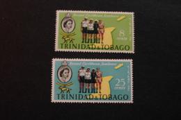 Trinidad And Tobago 103-04 Caribbean Scout Jamboree MNH 1961 A04s - Trindad & Tobago (...-1961)