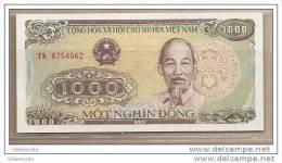 Vietnam - Banconota Non Circolata Da 1000 Dong - 1988 - Vietnam